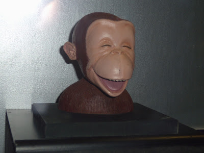 Curious George head maquette