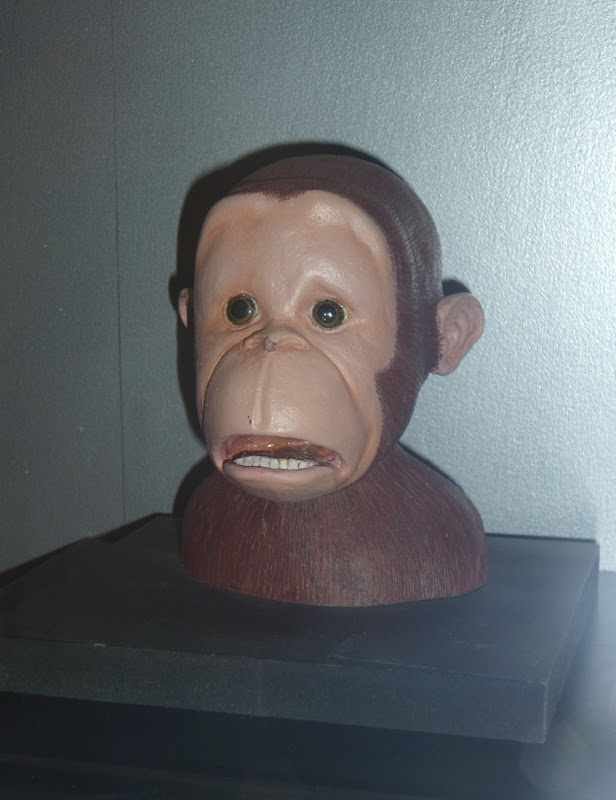 Curious George pre-production maquette