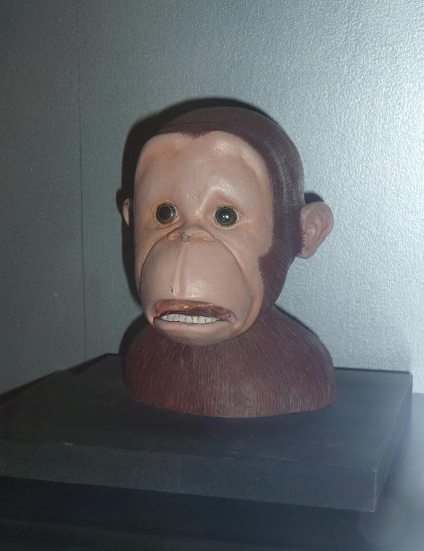 Curious George pre-production maquette