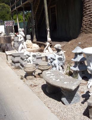 Cupid angel statue props