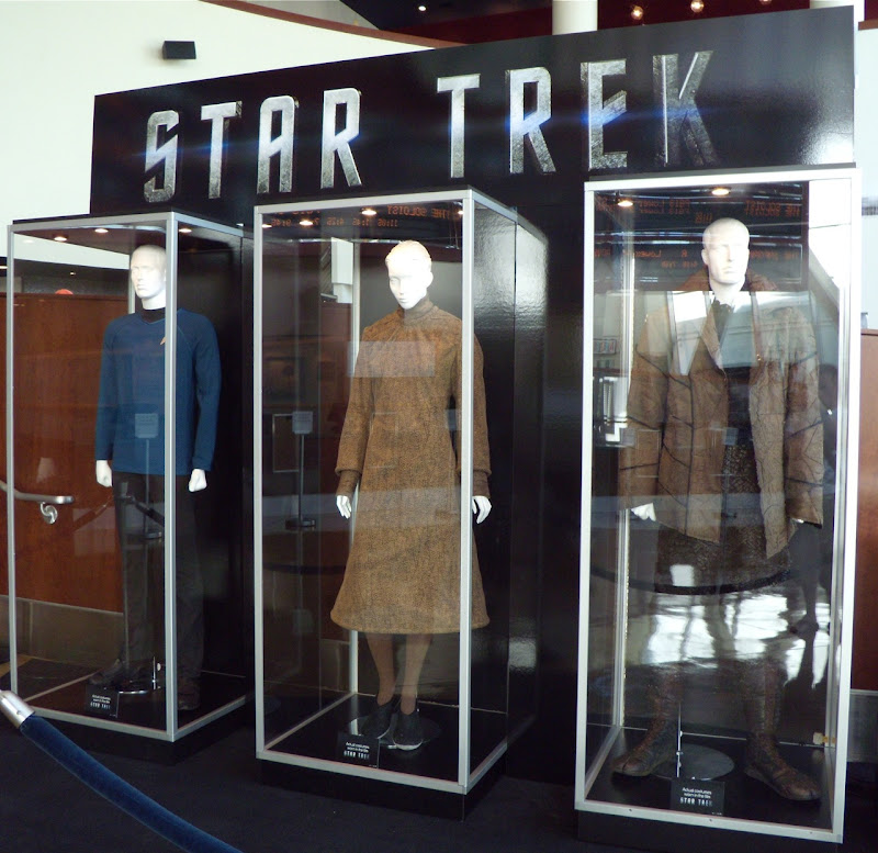 Star Trek Vulcan and Romulan costumes