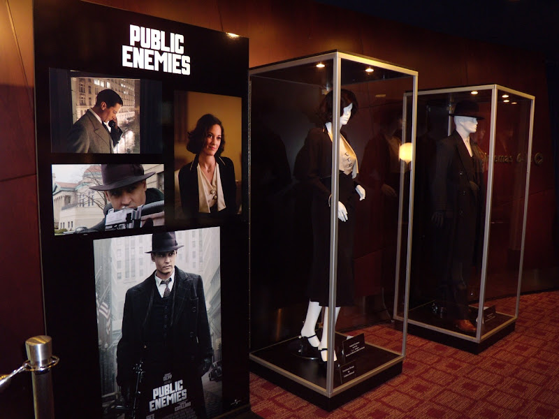Public Enemies film costume exhibit