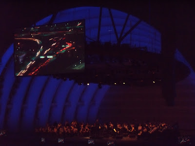 Koyaanisqatsi film at The Hollywood Bowl