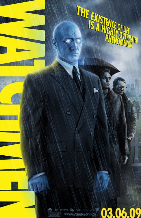 Watchmen Dr Manhattan movie poster