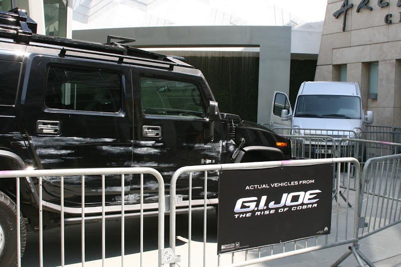 Actual GI Joe movie vehicles