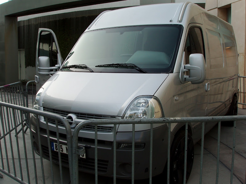 GI Joe Movano van movie vehicle