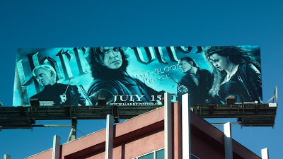 Harry Potter and The Half-Blood Prince movie billboard
