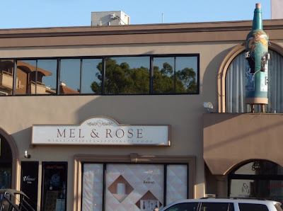 Mel & Rose wine shop on Melrose Avenue