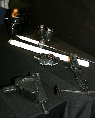 Actual GI Joe movie weapon props