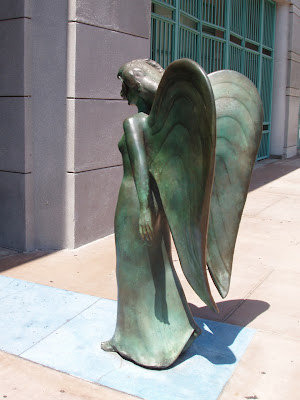 Catwalk angel in Downtown LA