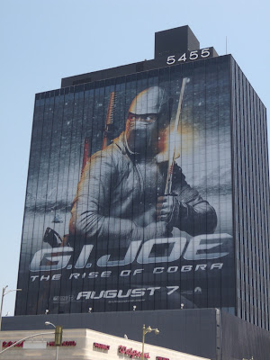 GI Joe Snake Eyes movie billboard