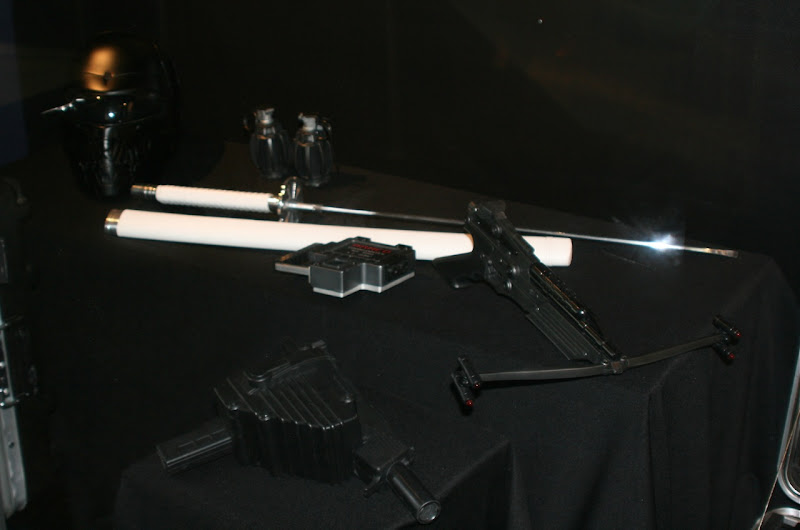 Original GI Joe film weapon props