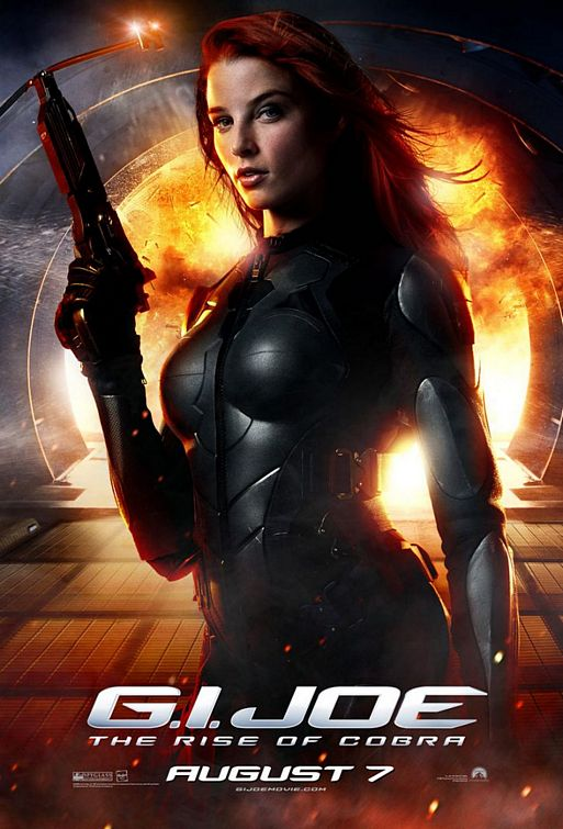 GI Joe movie Scarlett poster