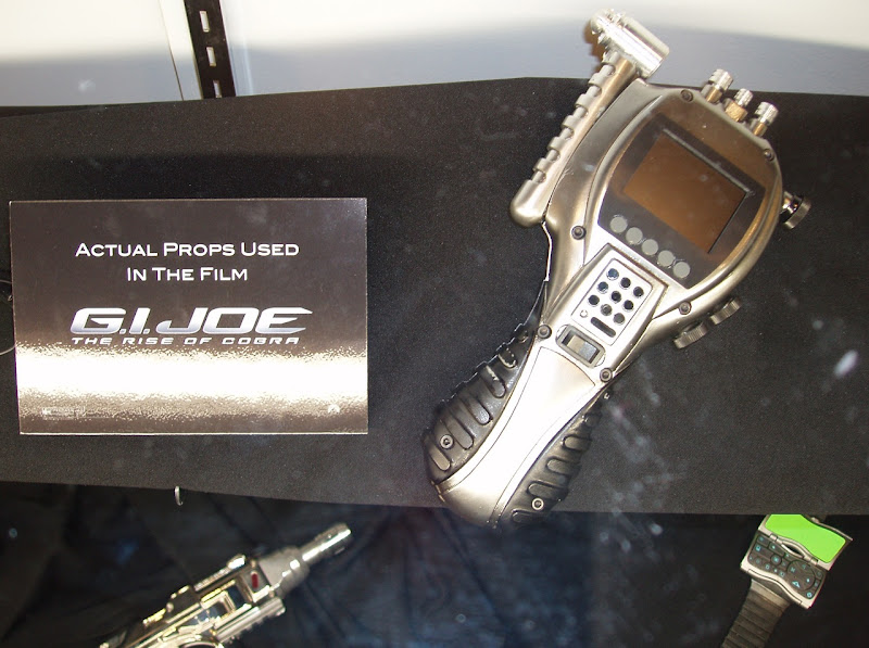 Actual GI Joe film props