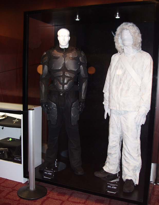 Actual GI Joe movie costumes