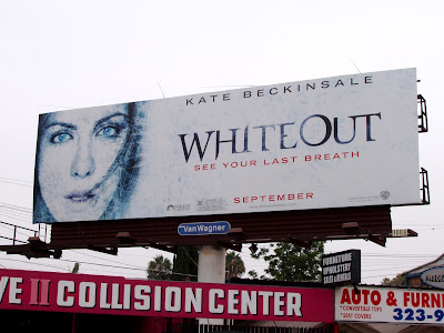 Whiteout movie billboard