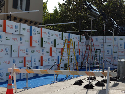 Melrose Place TV launch party set-up