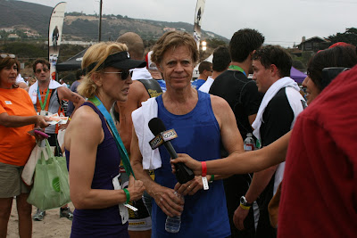 William H Macy at Malibu Triathlon