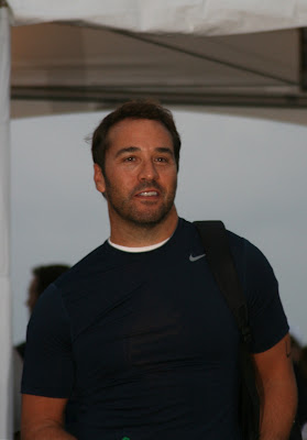 Entourage's Jeremy Piven at Malibu Triathlon
