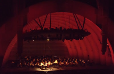 Movie music concert at the Hollywood Bowl