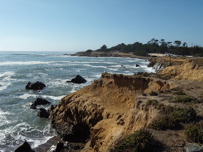 Cambria Californian coastline