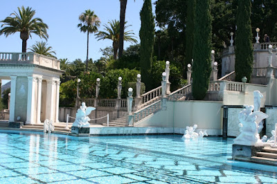 Hearst Castle ornate Neptune pool