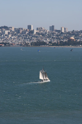 Yachts in San Francisco Bay