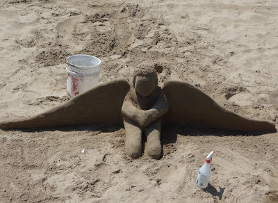 Beach angel Santa Barbara