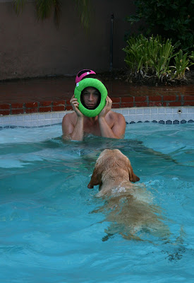 Pool Cooper and Jason