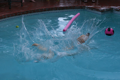 Pool Cooper makes a big splash