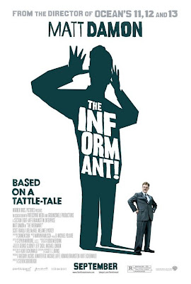 The Informant teaser film poster