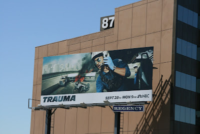 Trauma TV billboard