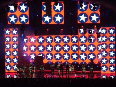 Kylie Minogue LA concert 2009