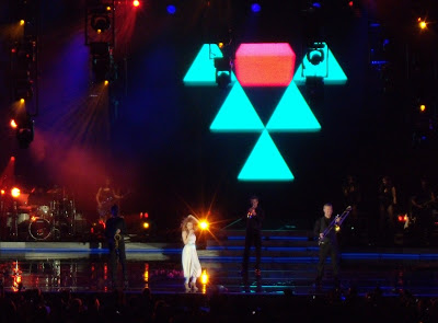 Kylie Minogue live at theHollywood Bowl