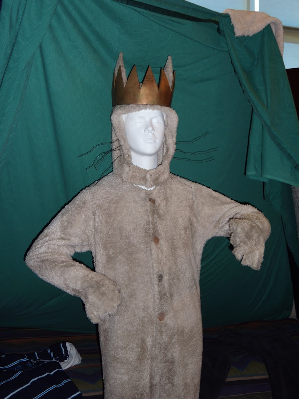 Where The Wild Things Are actual Max movie outfit