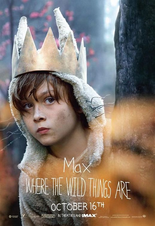 Max Where The Wild Things Are movie poster