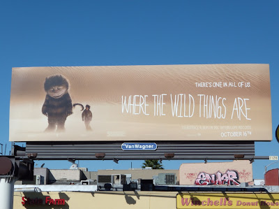 Where The Wild Things Are movie billborad