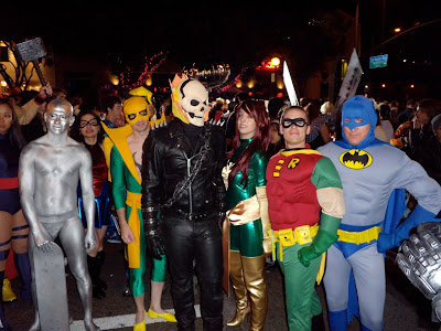 West Hollywood superhero costumes 2009