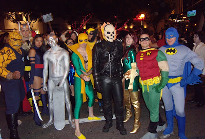 West Hollywood Halloween Carnaval Heroes 2009