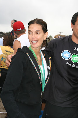 Teri Hatcher after Malibu Triathlon 2009