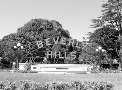 Beverly Hills Sign, Beverly Gardens Park