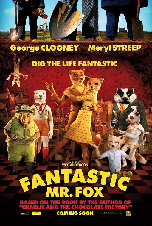 Fantastic Mr Fox movie poster