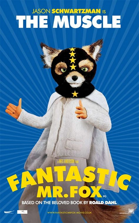 Ash Fantastic Mr Fox film poster