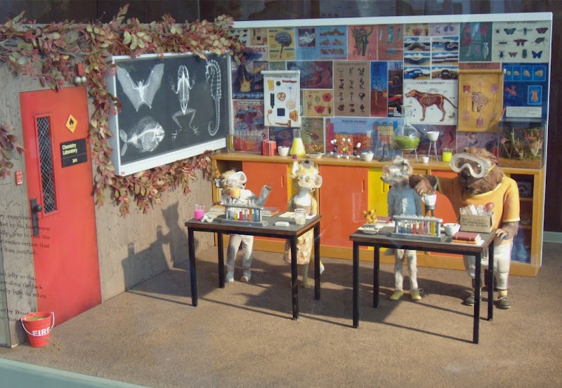 Fantastic Mr Fox film stop-motion animation models