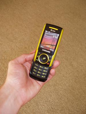 New Samsung SGH-a737 phone