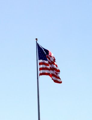 American Flag at The Grove