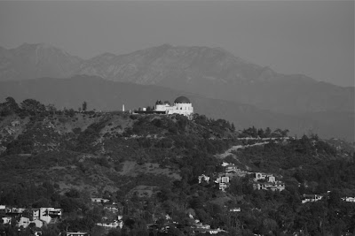 Runyon Canyon view of The Griffith Observatory