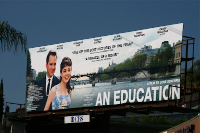 An Education movie billboard