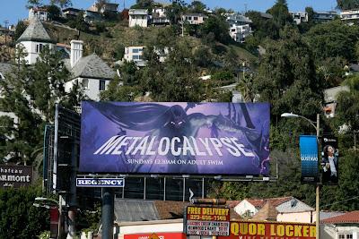 Metalocalypse animation billboard