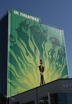 The Princess and the Frog film billboard